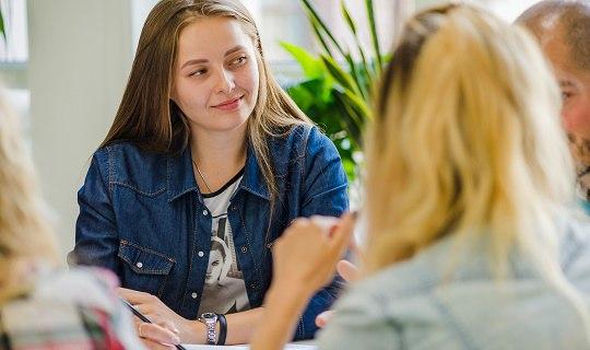 Групповое обучение английскому языку для начинающих