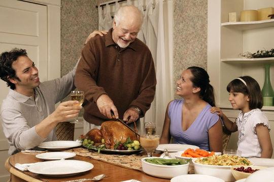 Семейный праздник в Канаде - День Благодарения