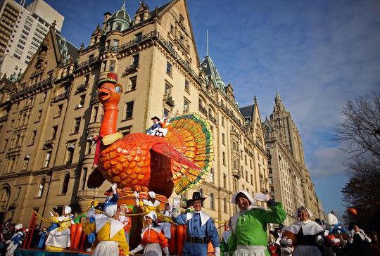 Парад в День Благодарения
