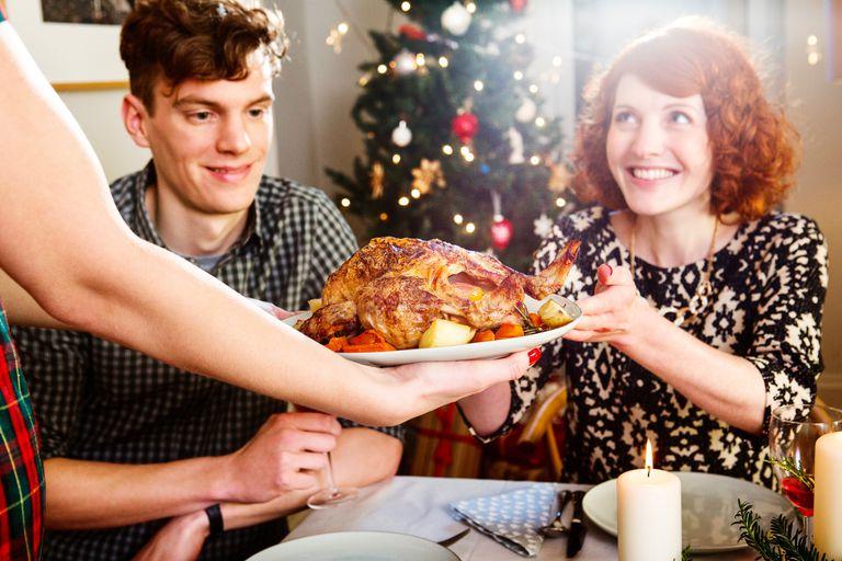 Рождественский ужин с уткой в Англии
