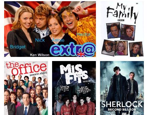 изучение британского английского по сериалам