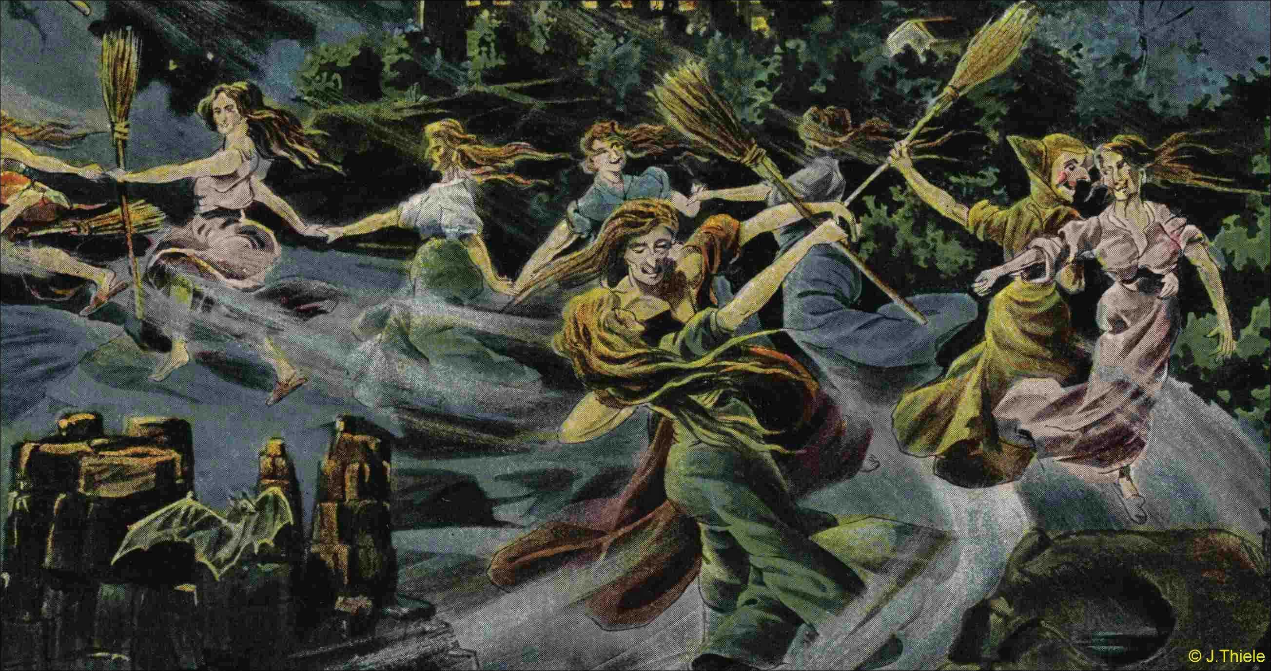 Вальпургиева ночь и танцы ведьм